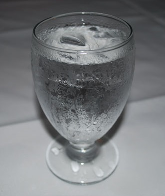 Drink Water Sitting Down