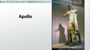 Image of terracotta Apollo statue