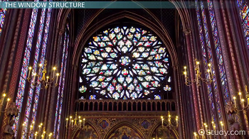 Example of a rose window