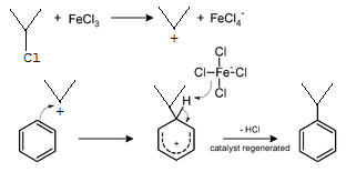 Secondary R group reaction