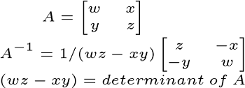 Worksheet Worksheets Inverse Of Matrix 2×2 inverse matrix definition properties formula study com 2x2inverse
