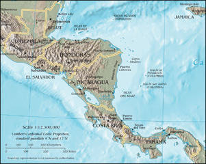 Physical Geography of Central America - Video & Lesson Transcript ...