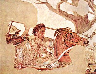 Alexander in battle