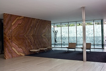 barcelona pavilion plan materials amp construction studycom