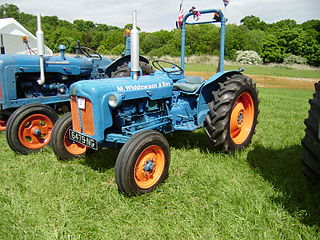 A tractor with a rollover protection system