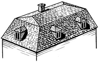 A Mansard Roof