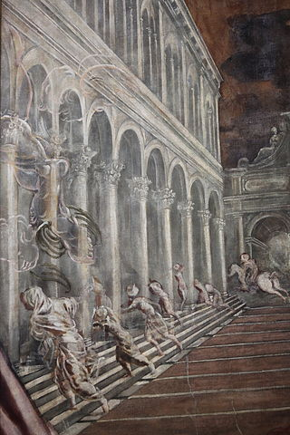Tintoretto, detail of Stealing the Body of St Mark