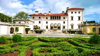 The Villa Vizcaya Of Florida