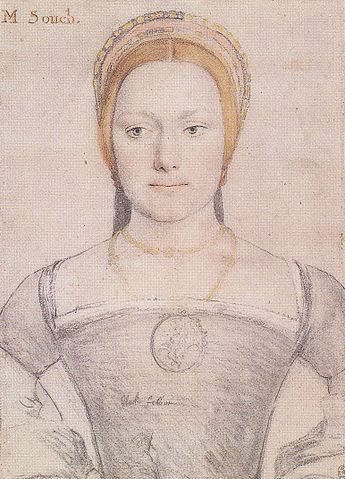 Holbein, Drawing of M Zouch