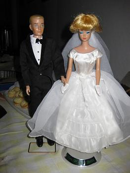 Early Barbie and Ken