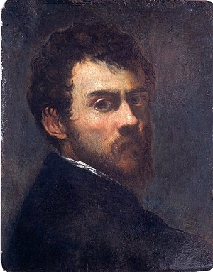 Tintoretto, Self Portrait as a Young Man