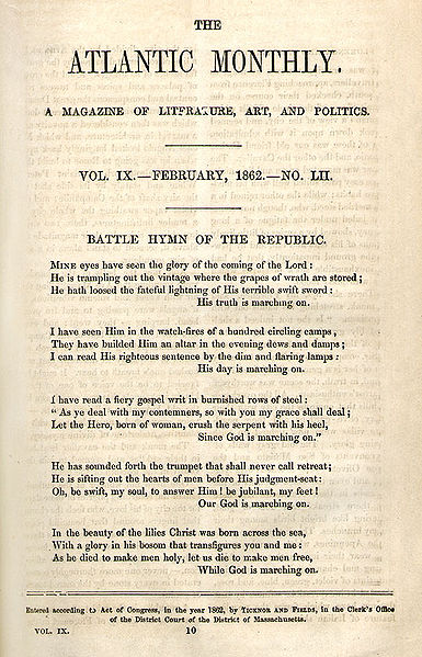 Battle Hymn of the Republic: Summary & Analysis | Study com