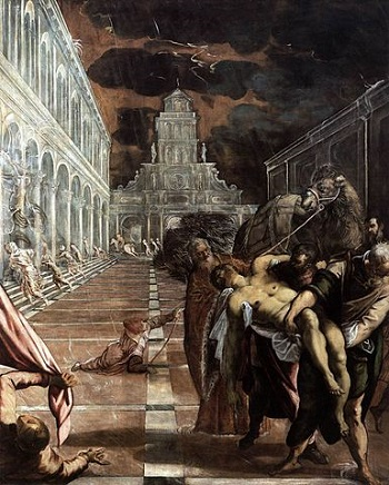 Tintoretto, Stealing the Body of St Mark