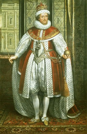 Image of portrait of James I from Royal Collection