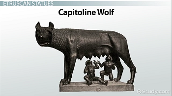 Bronze sculpture of the Capitoline Wolf