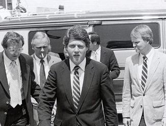 Captivating Governor Bill Clinton