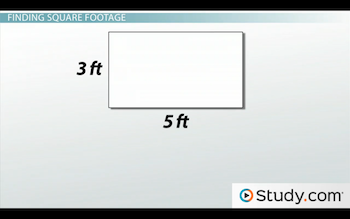 Measuring The Area Of A Rectangle Formula Examples Video