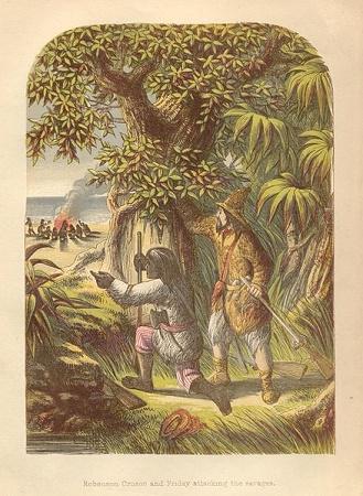 robinson crusoe moral values