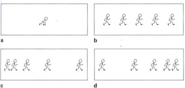 Quiz worksheet constant motion in physics study which of the following diagrams illustrates constant speed assume that each stick figure represents the new position after each second ccuart Gallery