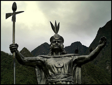 Statue of Pachucutec