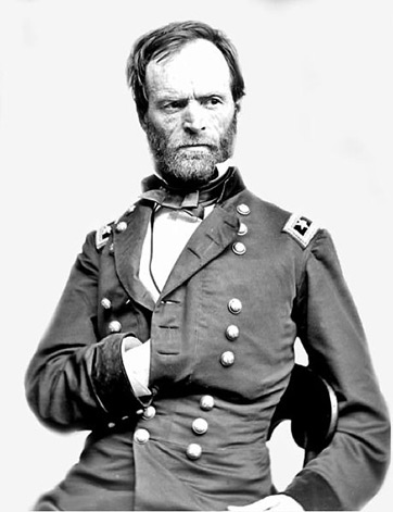 an overview of major general william shermans 1864 march to the sea William tecumseh sherman:  in march 1864, when grant became general-in-chief of  party nearly killed commanding general william t sherman and his small escort.