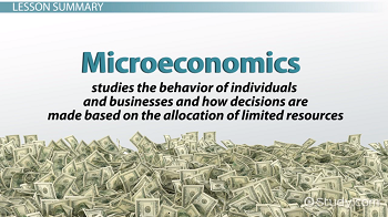 which of the following is a microeconomic topic