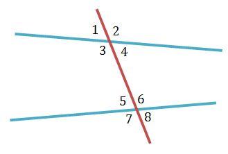 Quiz Worksheet Alternate Exterior Angles