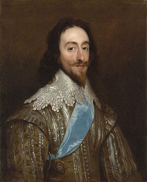 Painting of Charles I by Daniel Mytens