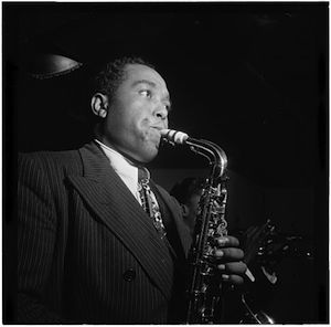 Charlie Parker. Photo by William Gottlieb.