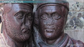 Image of Tetrarchs faces