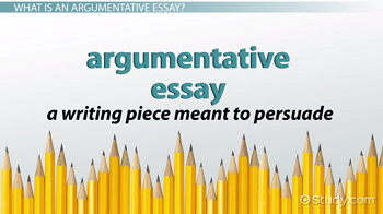 argumentative text definition