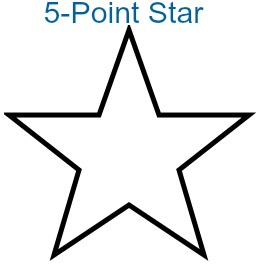 Does A 5 Point Star Have Rotational Symmetry Study Com