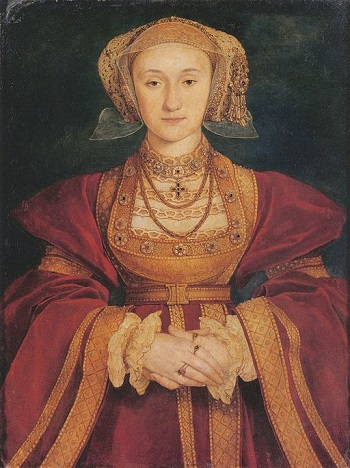 Hans Holbein Portrait of Anne of Cleves