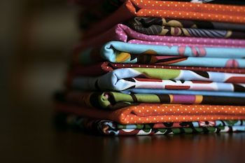 colorful patterned textiles