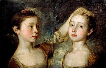 Thomas Gainsborough, Mary and Margaret Gainsborough, Daughters of the Artist