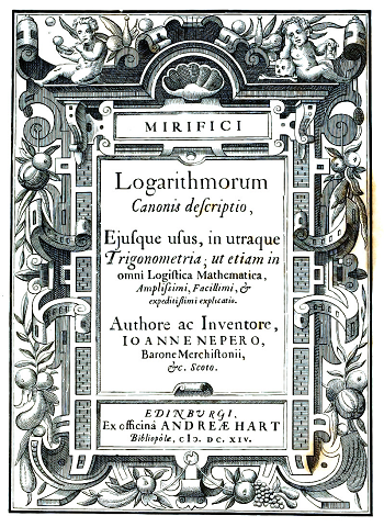 In this pivotal book, John Napier first introduced the concept of logarithms.