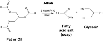 Saponification Reaction Mechanism