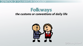 folkways and mores examples