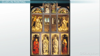 Ghent Altarpiece, closed view