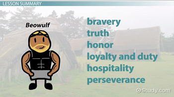 Anglo saxon values culture in beowulf video lesson transcript the heroic code values fandeluxe Images