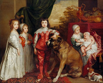 Anthony van Dyck, Children of Charles I