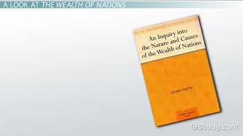 Lesson Plans An Inquiry Into the Nature and Causes of the Wealth of Nations