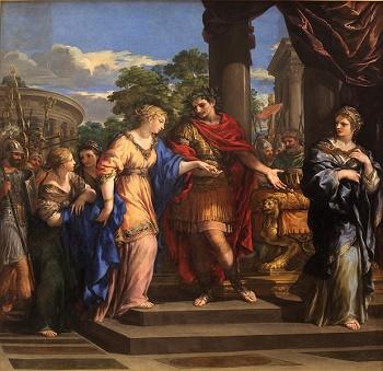 Julius caesar and cleopatra relationship