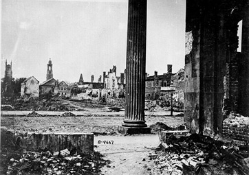 Charleston, South Carolina, was one of the many Southern cities to suffer immense damage during the Civil War.