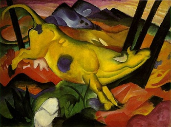 Franz Marc, The Yellow Cow