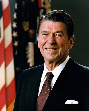 Portrait of President Reagan