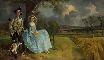 Gainsborough, Portrait of Mr and Mrs Andrews