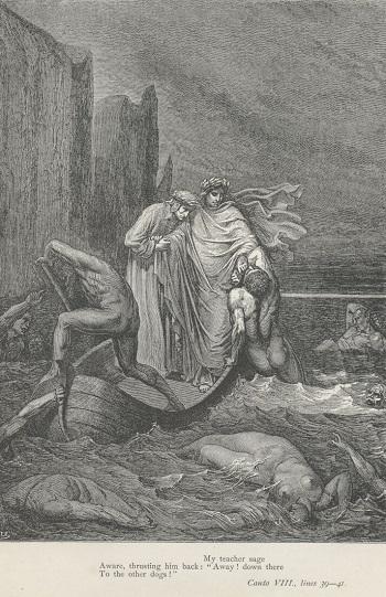the circle of the malevolent in inferno by dante alighieri Literature network » dante alighieri » inferno » canto xvii canto xvii inferno: canto xvii malevolent, that yonder coucheth.