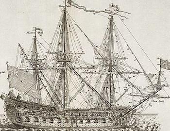 Treasure Island Hispaniola Ship Parts