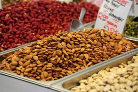 Nuts and seeds, high levels of phytosterols